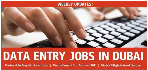 Data entry jobs 2021 for freshers and experienced