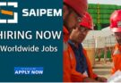 World wide announced by Saipem jobs and careers